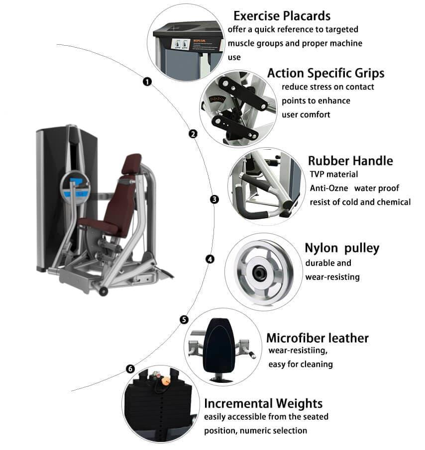 Chest Press Machine for Sale, Buy Chest Press Machine Workout Machine Online
