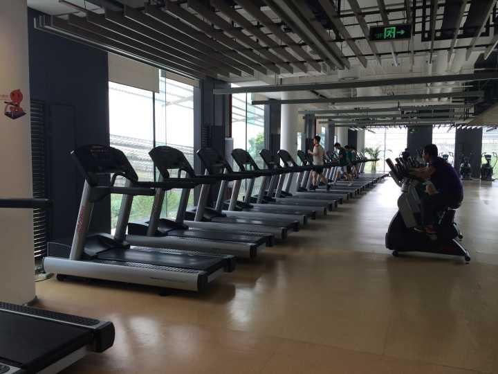 阿里巴巴公司健身房