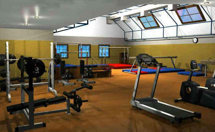 健身房健身器材摆放都有哪些讲究