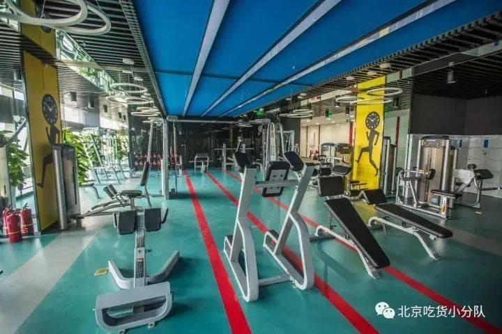 京东公司健身房