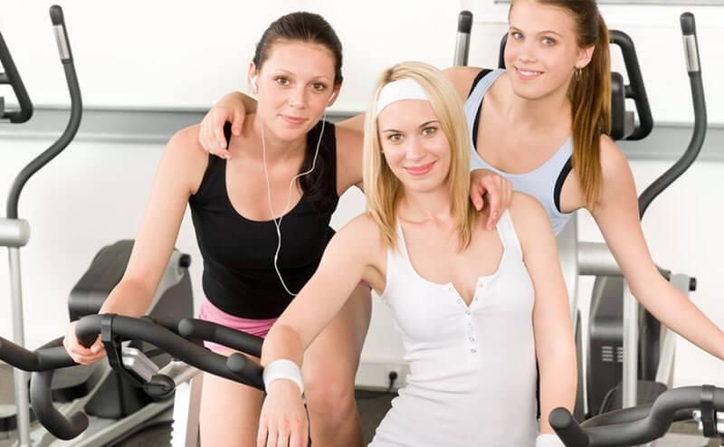 女生警惕健身房里错误的健身方式